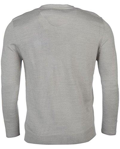Pierre Cardin - Pull - Homme gris chiné