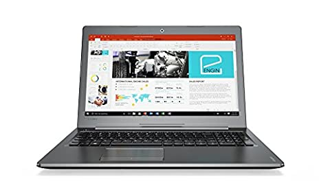 Lenovo IdeaPad 510 39,6 cm (15,6 Zoll Full HD IPS Anti-Glare) Notebook (Intel Core i7-7500U Dual-Core, 8 GB RAM, 1 TB HDD + 128 GB SSD, Nvidia GeForce 940MX 4 GB, Windows 10) anthrazit (gun