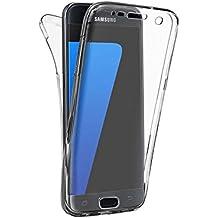 Funda Samsung Galaxy A3 2017, Lincivius®, Carcasa Galaxy A3 2017 TPU Full Cover 360 Grados Integral Estuche Protección Accesorios Fina Resistente Flexibles Delanteros y Traseros