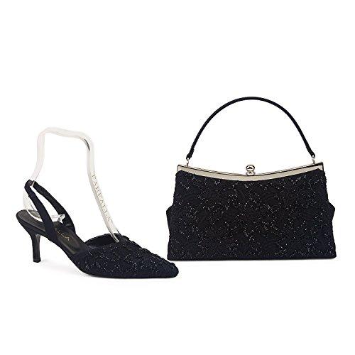 FARFALLA - Scarpe con cinturino alla caviglia donna Black