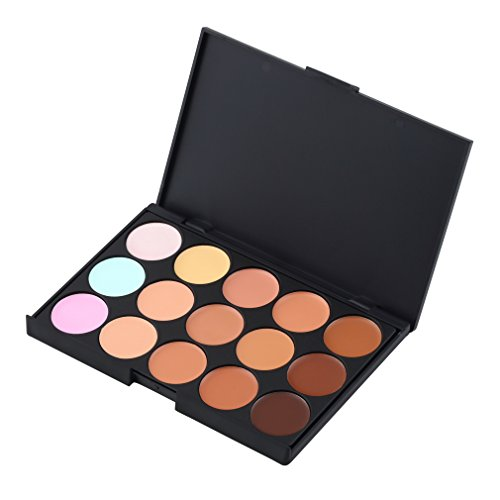 Generic 15 Colors Cream Concealer Highlight Face Contour Foundation Pallete