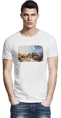Borderlands 2Captain Scarlett and Her Pirate's Booty Battle Raw Edge-T-Shirt Large