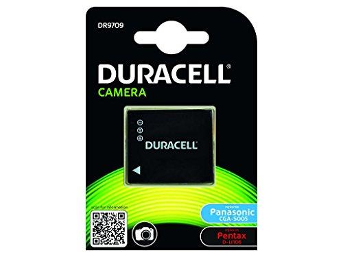 Duracell DR9709 - Batería para cámara digital 3.7 V, 1050 mAh (reemplaza batería original de Panasonic CGS-S005)
