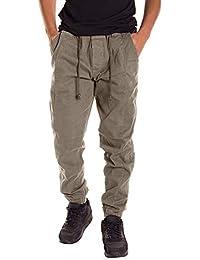 Marlene1988 Hombre Pantalones Pantalón Largo Hombre Pantalones de esquí Leggings y Medias Deportivas para Hombre Jeans