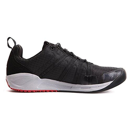 XIANG GUAN Hommes Chaussures de running compétition Chaussures de Sports Course 16091 Noir