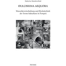 Dulcissima Aequora: Wasserbewirtschaftung Und Hydrotechnik Der Terme Suburbane in Pompeii (Babesch Supplements: Annual Papers on Mediterranean Archaeology, Band 13)