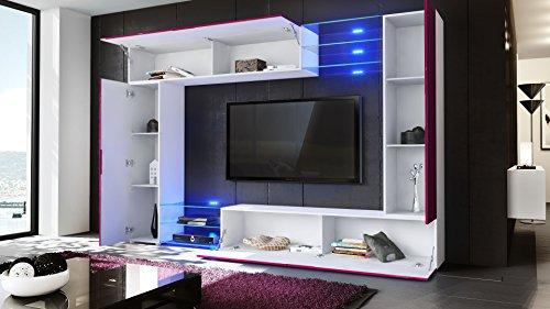 wohnwand creme bestseller shop f r m bel und einrichtungen. Black Bedroom Furniture Sets. Home Design Ideas