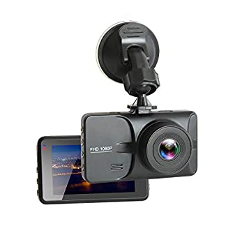 Auto-Kamera30-Zoll-LCD-Full-1080P-HD-DashCam-AutoWiFi-WLAN-DVR-Rekorder-Video-Recorder-mit-170-WeitwinkelobjektivBewegungserkennungG-SensorWDRParkschutzLoop-Aufnahme-Nachtsicht-Durch-WHOLEV