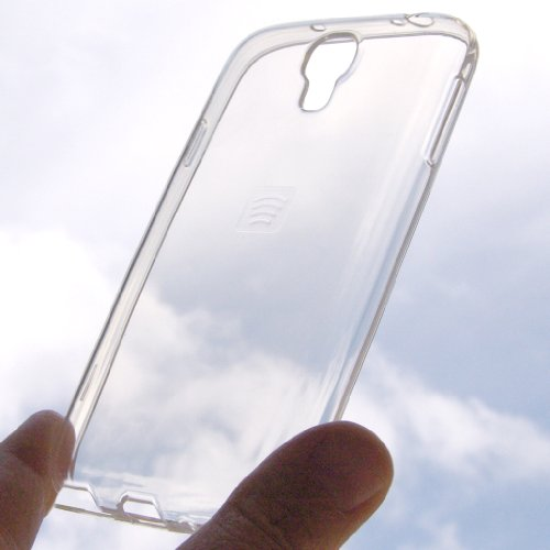 PIEFFELINE Custodia in Silicone Gel Trasparente SEMIRIGIDO per Samsung N7505 Galaxy Note 3 Neo