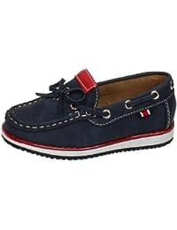 Zapatos mocasines dm DEMAX ZAPATOS MOCASÍN talla 31 MARINO POLIPIEL