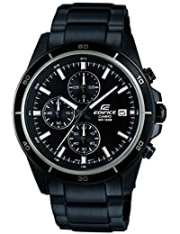 Casio Edifice Chronograph Black Dial Men's Watch - EFR-526BK-1A1VUDF (EX206)
