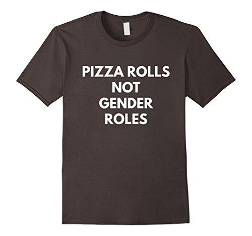pizza-rolls-not-gender-roles-t-shirt-feminist-shirts-herren-grosse-3xl-asphalt