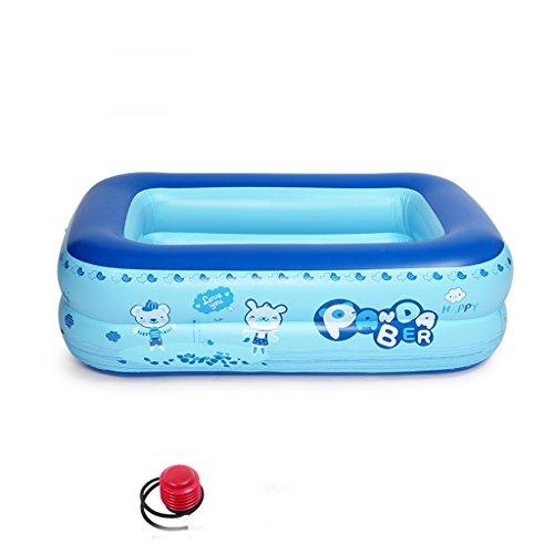 Kinder-/Baby-Anti-glitschiges Swimmingpool-Kind-aufblasbare faltende Badewanne, tragbares Wanne-blaues Bad-dickere Isolierung Haupt-Badekurort, faltbarer Reise-Luft-Dusche-Bassin-Sitz-Bad-große Größe