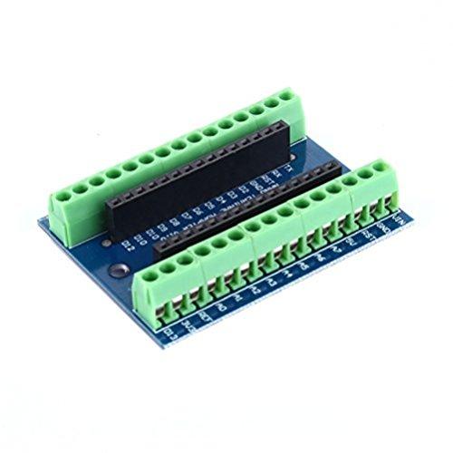 tinxi® Nano Adattatore Terminale per Arduino Nano V3.0 AVR ATMEGA328P Bordo di Modulo