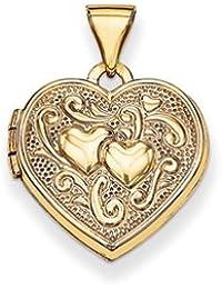 14k Heart Locket by UKGems