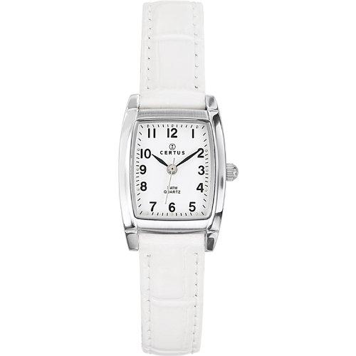 Certus Ladies Wristwatch Quartz Analog White 644516