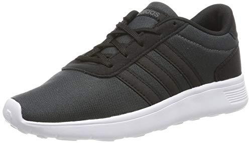adidas Jungen LITE Racer K Laufschuhe, Mehrfarbig Core Black/Grey Six F35545, 40 EU
