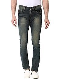 Kozzak Blue Slim Fit Stretchable Jeans For Men - B0765Y1H2M