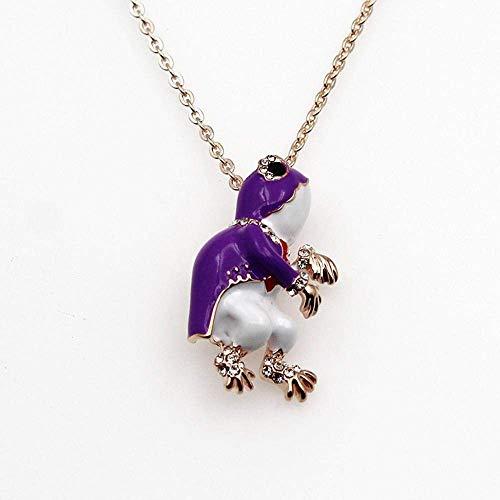 MingXinJia Mode Broschen Pins Damen Halskette Damen Necklac Brosche Ninja Turtle Chest Pin Legierung Halskette Dual-Zweck 21 * 37Mm Halskette Schmuck für Frauen und Mädchen, 2# (Turtles Ninja Weiblich)