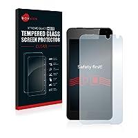 Savvies® Xtreme Glass HD33 Protecteur d'écran en verre trempé pour Microsoft Lumia 650 avec une dureté de surface de 9H, peu salissant il offre une protection maximale contre les rayures et les abrasions pour votre appareil.    Coupe précision  Un...