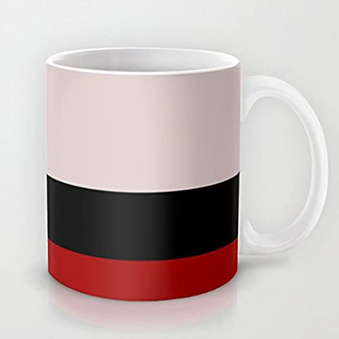 Picard - minimalista Star Trek LNG The Next Generation el capitán Jean Luc Picard startrek Trektangles caliente taza de café