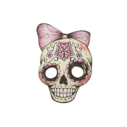 ng costumes204588sortiert Skull Candy Masken (eine Größe) (Candy Skull Dress Up)