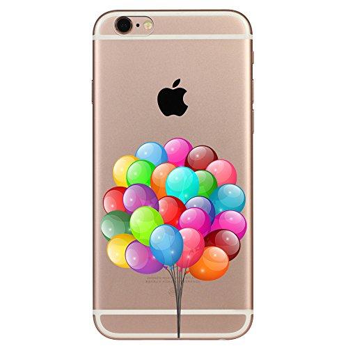 IPHONE 6 6S Hülle Weich Silikon TPU Schutzhülle Ultradünnen Case für iPhone 6 6s Schutz Hülle Ballon 1