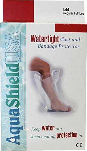 AquaShield Cast and Bandage Protector - Regular Full Leg