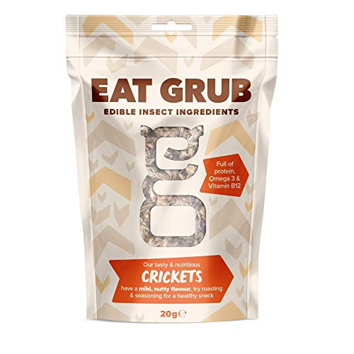 Grilli Commestibili di Eat Grub (20 grams)