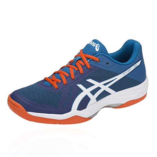 ASICS Herren Gel-Tactic Volleyballschuhe, Blau (Blue Print/White 401), 46 EU
