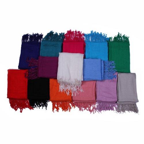 DonDon plus grand foulard d'été-le Rose - Lachs