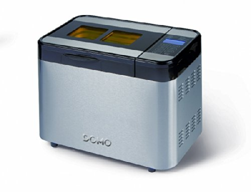 Domo B3990 Negro, Plata - Panificadora (Negro, Plata, 1,35 kg, 900 g, 13 h, Sensor, 60 min)