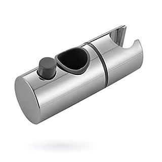 Amcool Einstellbare 22mm ABS Chrom Duschschiene Kopf Schieber Halter Halterung