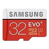 Samsung MB-MC32D/EU MicroSD-Speicherkarte Klasse 10 schwarz / rot / weiß 32GB