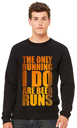 the-only-running-i-do-is-beer-runs-t-shirt-unisex-crewneck-sweatshirt-xx-large