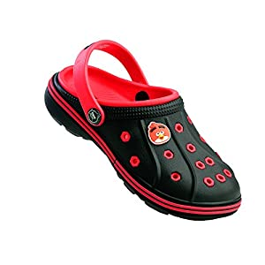 Angry Birds (from VKC) Boy's Red and Black Clogs and Mules
