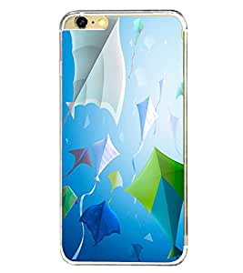 Fiobs Designer Back Case Cover for Apple iPhone 6 (4.7 Inches) (Kites Patang Colorful Makar Sankranti)