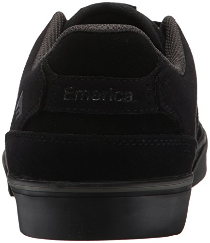 Emerica - The Reynolds Low Vulc, Scarpe da skateboard da uomo Nero
