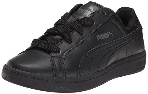 Puma evoSPEED HallenfuÃ?ball Schuhe Indoor-Schuhe Black/Black/Dark Shadow