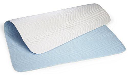 Carevitex 2014 wasserdichte, waschbare Matratzenschutz Auflage 75x90cm saugfähige Inkontinenz - Bettschutzeinlage, atmungsaktive Matratzenauflage trocknergeeignet - Bereich Teppich 8x10