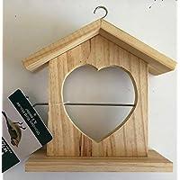 KOKO en forma de corazón madera bolas grandes / Fruta Comedero - para Salvaje Pájaros