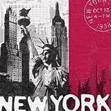 20 Servietten, Motiv New York, 33*33cm