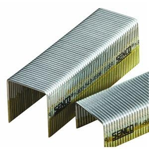 Senco P12BAB 16 Gauge by 1-inch Crown by 7/8-inch Length Electro Galvanized Staples (10,000 per box) by Senco (1-zoll-16-gauge)