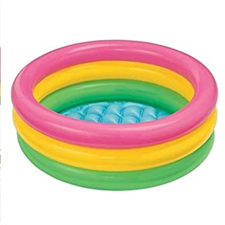 MBJZ The fluorescent inflatable swimming pool during the summer months your baby pool folding bath tub bathtub,60*22cm
