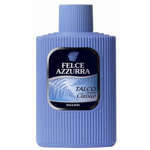 Paglieri Felce Azzurra Talcum Bottle, 7 Ounce by Paglieri USA, Inc. (English Manual)