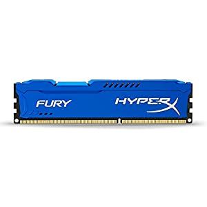 HyperX HX316C10F/4 FURY Blue, 4 GB, 1600 MHz DDR3 CL10 DIMM