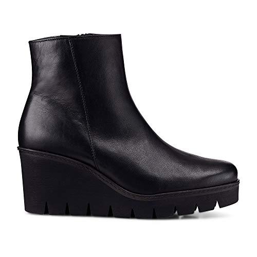 Gabor Utopie Womens Klobige Keil Heel Ankle-Boots 5 UK/ 38 EU Schwarz