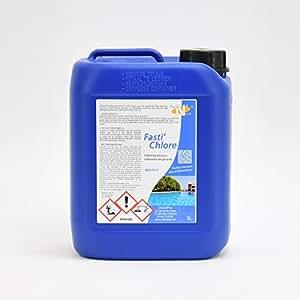 TECh'N'Fast - Fasti'CHLORE Chlore liquide pour traitement des piscines - Bidon de 5L