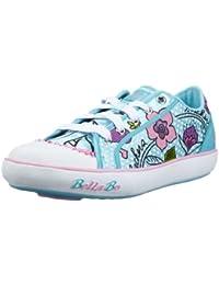 Skechers Curtsies 82026L PNK - Zapatillas de tela para niña