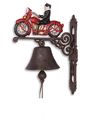 """Türglocke,Wunderschöne-Nostalgische Glocke aus Gusseisen Motiv """"Motorrad"""" *"""